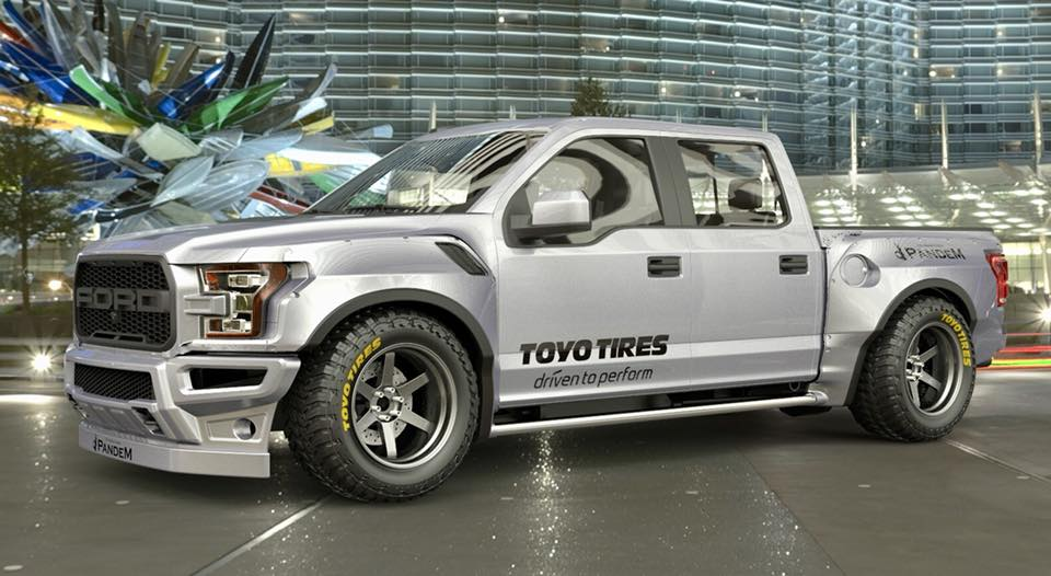 Rocket Bunny Ford F-150 Raptor Is Wrong In All The Right