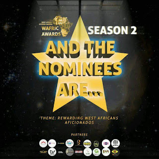 WAFRIC AWARDS 2018' NOMINEES LIST