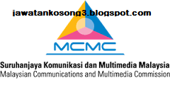 Kerja Kosong Terkini Kerajaan MCMC