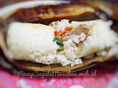 Resep Masak Nasi Bakar Ayam Jamur