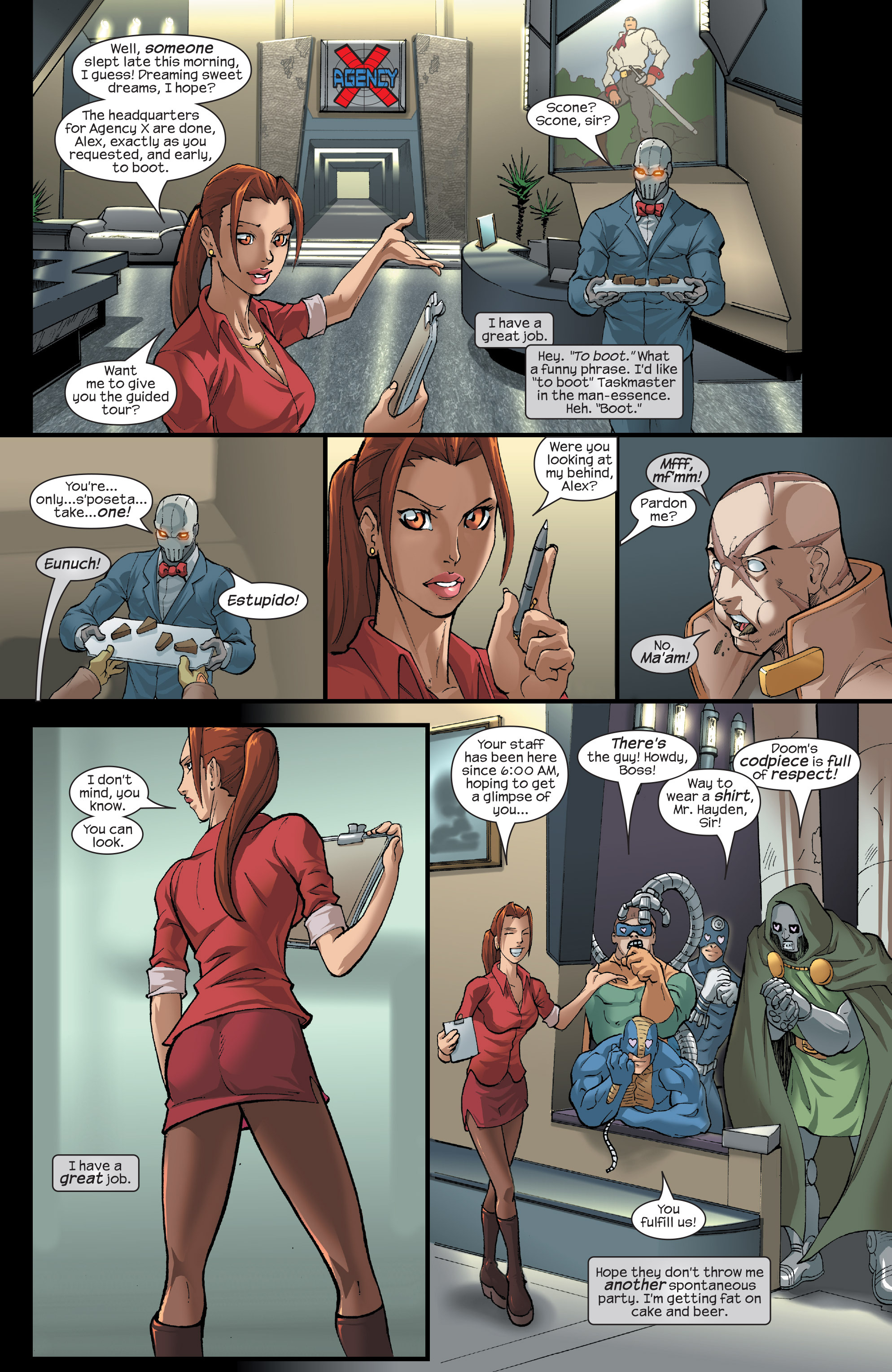 Read online Agent X comic -  Issue #15 - 3