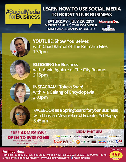 Learn How to Use Social Media to Boost Your Business at PBEX 2017