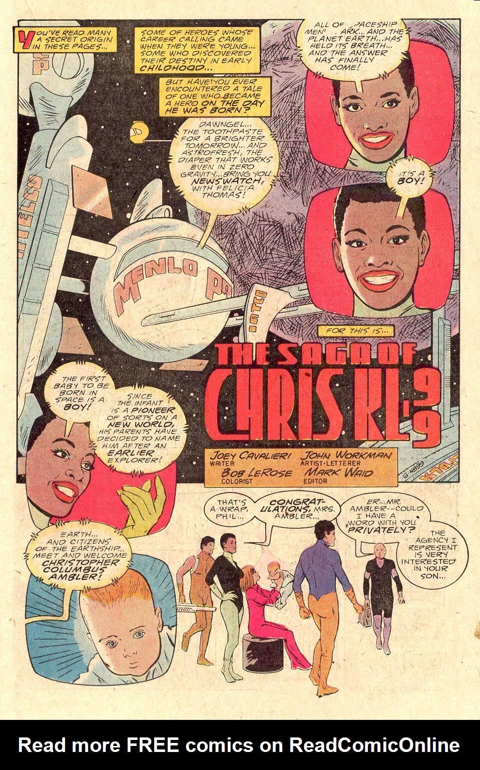 Read online Secret Origins (1986) comic -  Issue #43 - 30