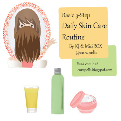 Curapelle Basic 3-Step Skin Care Routine
