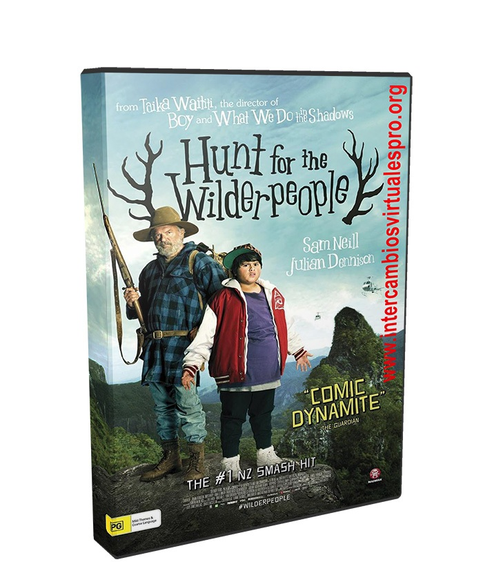 Hunt for the Wilderpeople poster box cover
