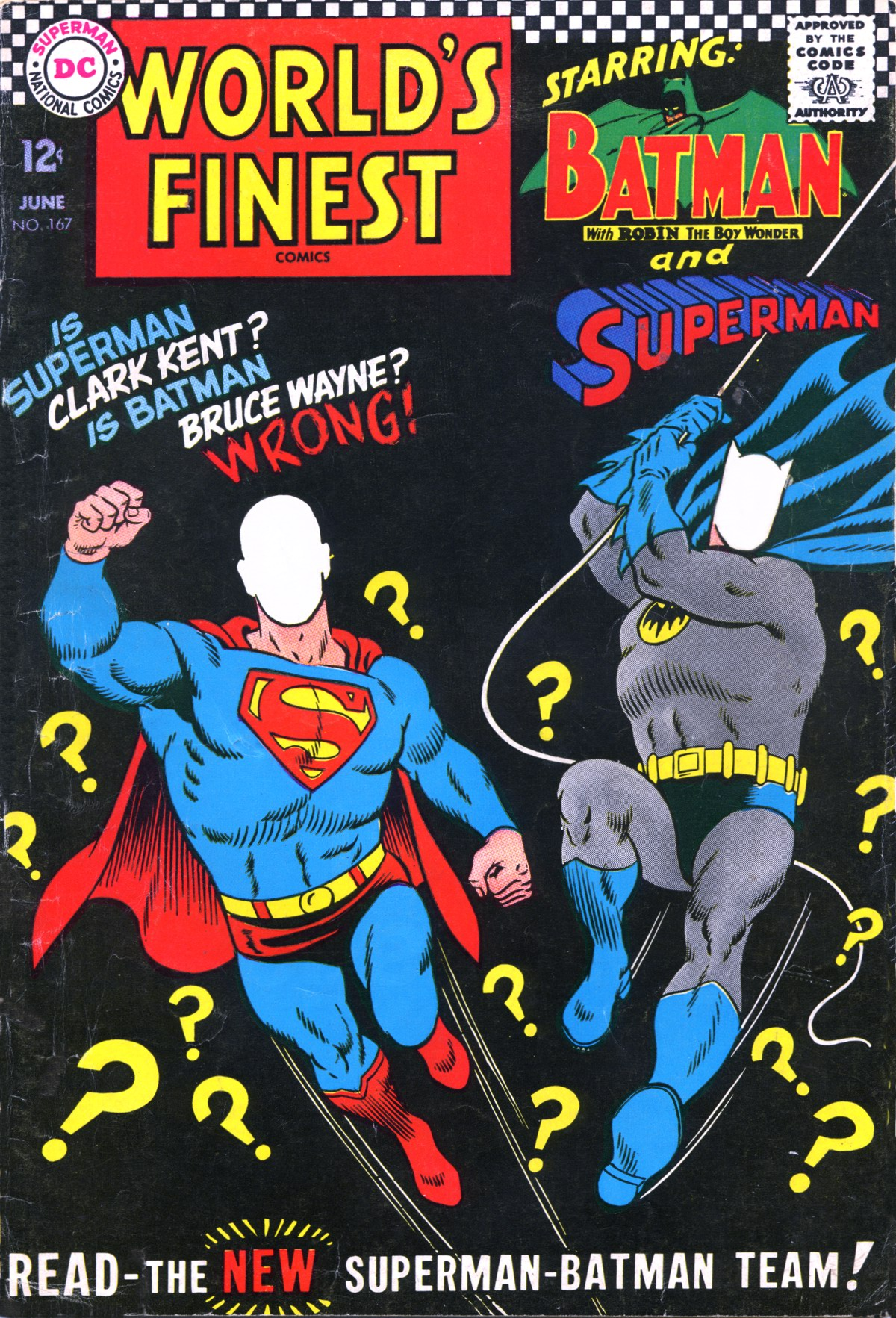 Read online World's Finest Comics comic -  Issue #167 - 1