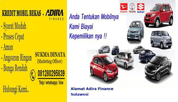 alamat adira finance sulawesi