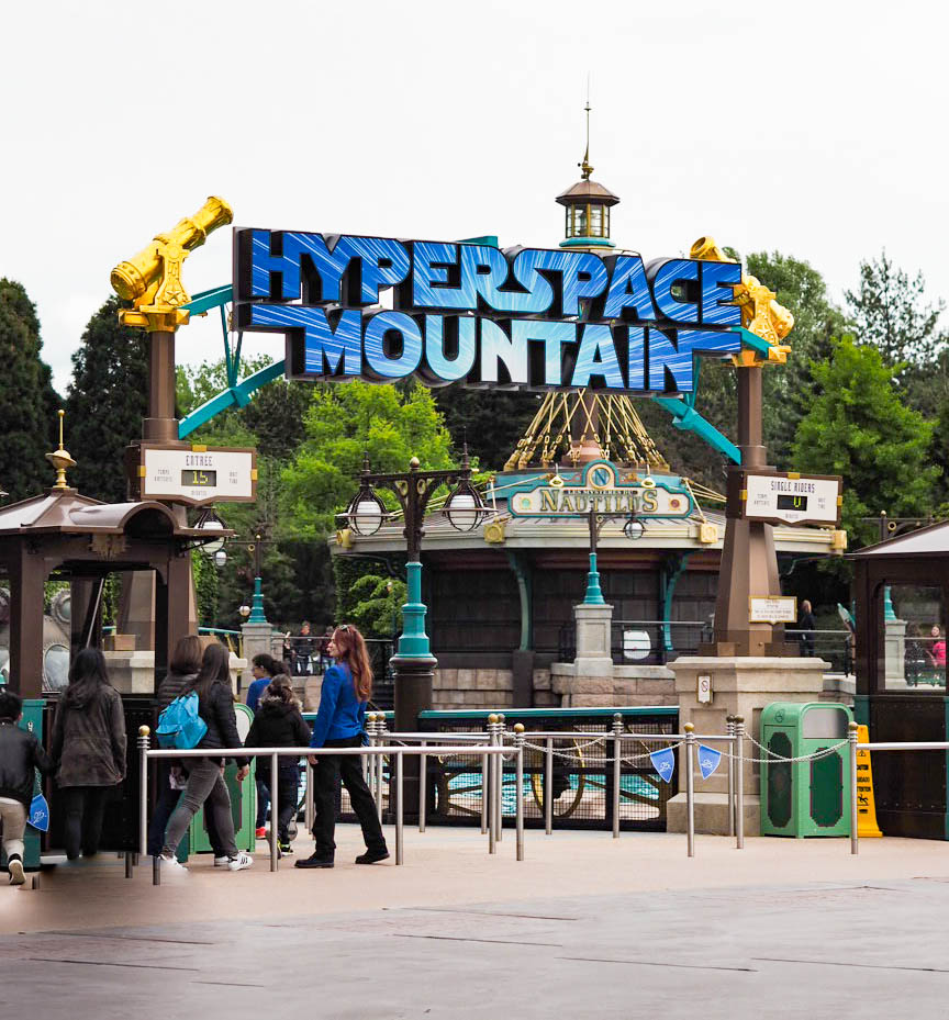 Hyperspace Mountain, Disneyland Paris