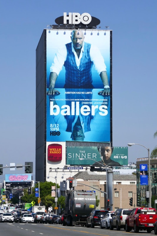 Giant Ballers season 4 billboard Sunset Strip