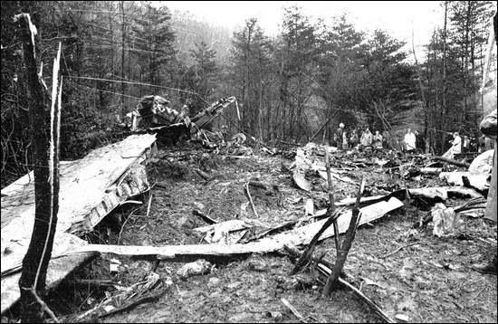 Skynyrd Crash Cause Lynyrd Plane
