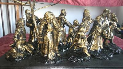 El Prendimiento de Sanlucar de Barrameda presenta el boceto de su conjunto escultorico