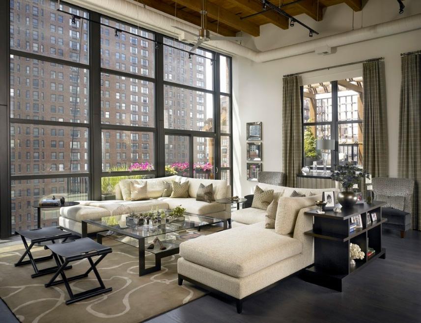 Chicago skyloft csikágói loft home house garden design