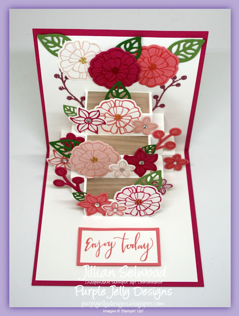 Falling Flowers Stamp Set, May Flower Framelits