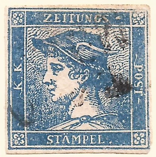 The Worlds First Newspaper Stamp