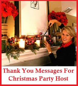 christmas party thank you note example