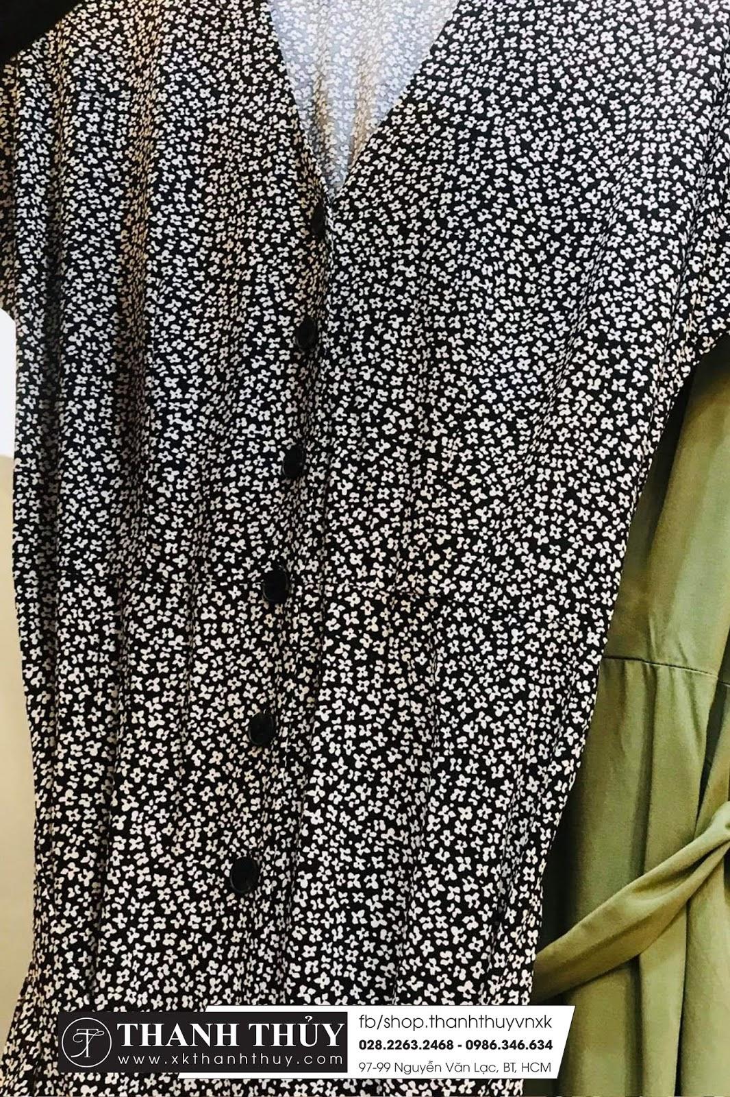Đầm sơ mi Ware House vải lanh mềm mịn