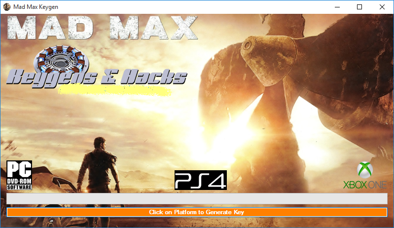 FREE DOWNLOAD MAD MAX [PC,PS4,XBOX ]-CHEATS HACK