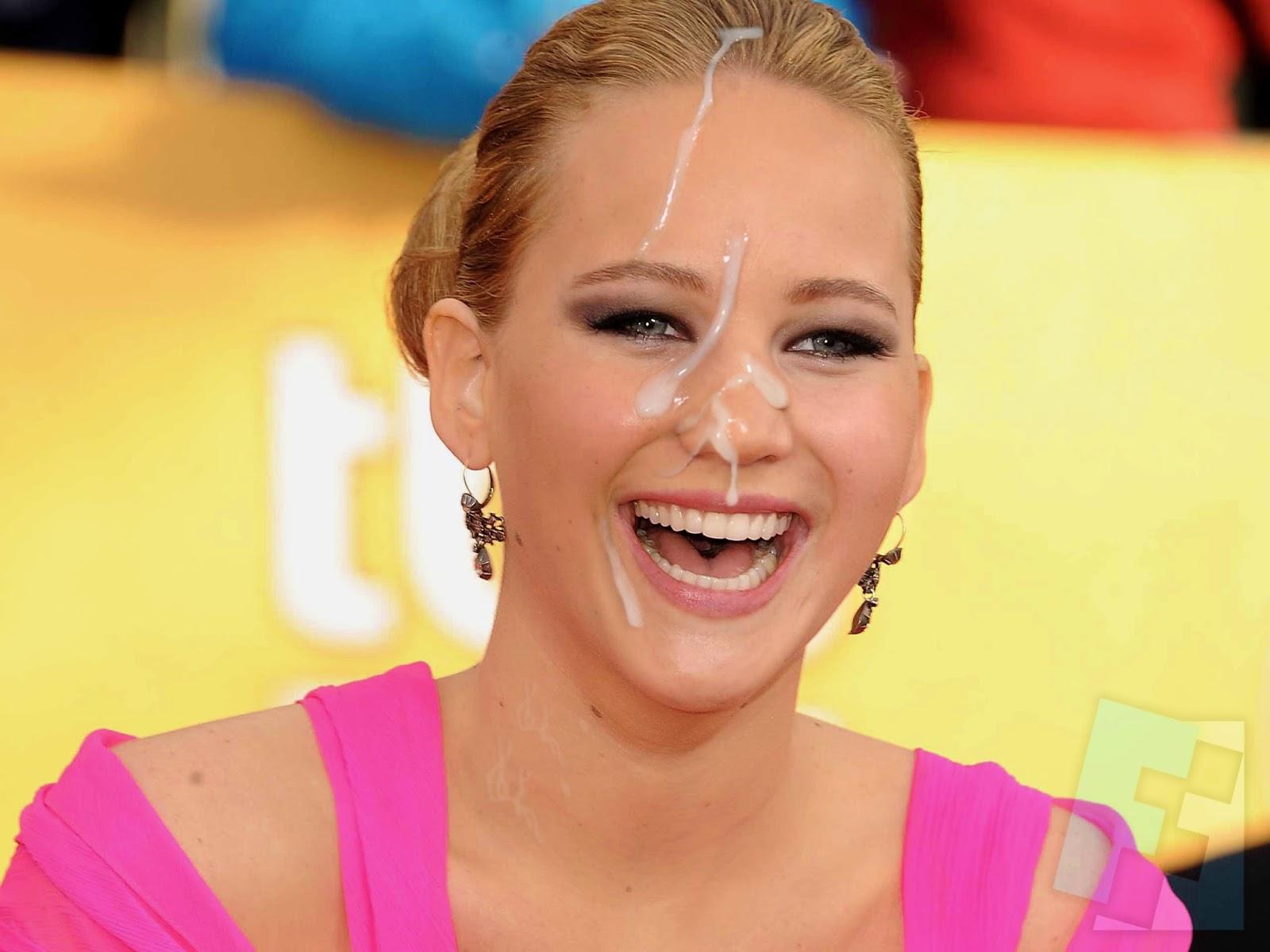 Jennifer Lawrence fakes
