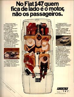 propaganda Fiat 147 - 1977.  propaganda anos 70. propaganda carros anos 70. reclame anos 70. Oswaldo Hernandez..