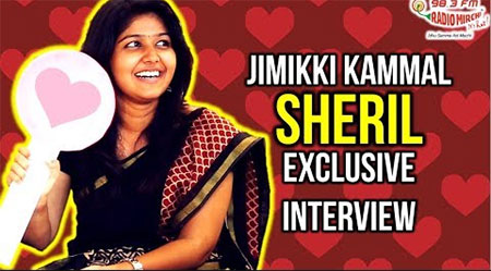 Jimikki Kammal girl Sheril Interview And Dance – RJ Anand