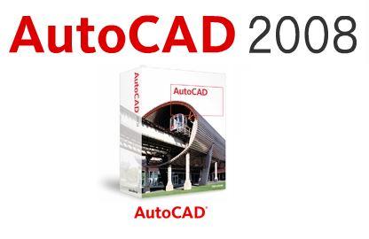 AutoCAD 2008 [32 bit + 64 bit] Full Crack & Keygen โหลดฟรี