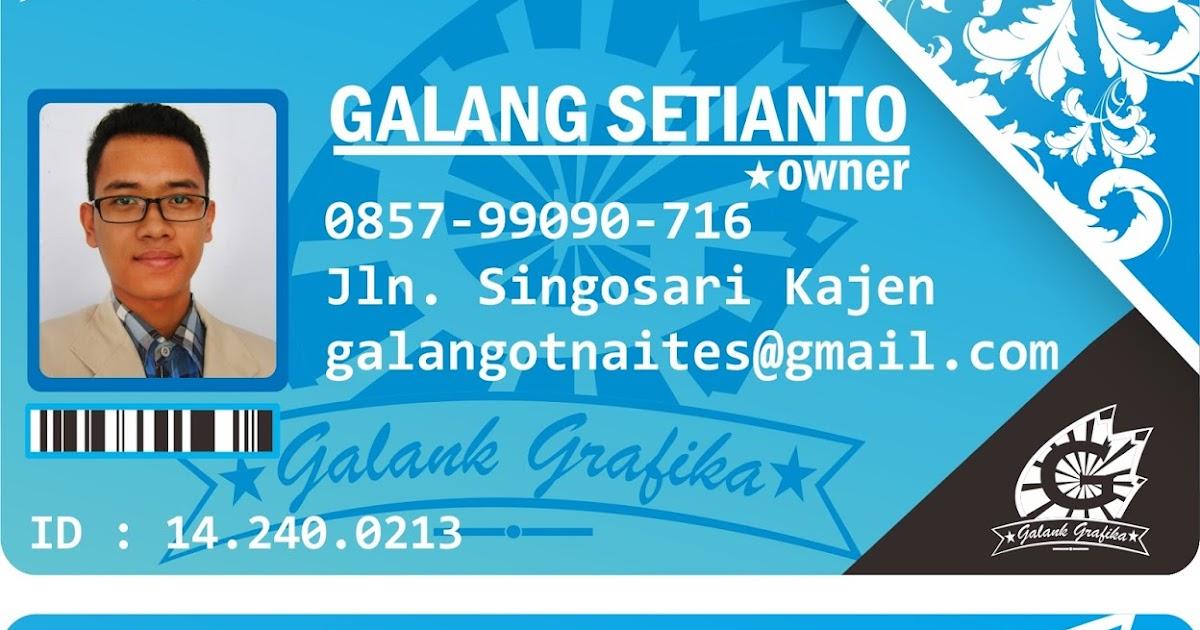 Download Contoh Desain Kartu Nama Coreldraw (CDR) - Galang ...