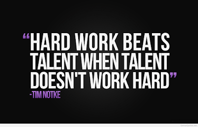 Excellence Hard Work Quotes