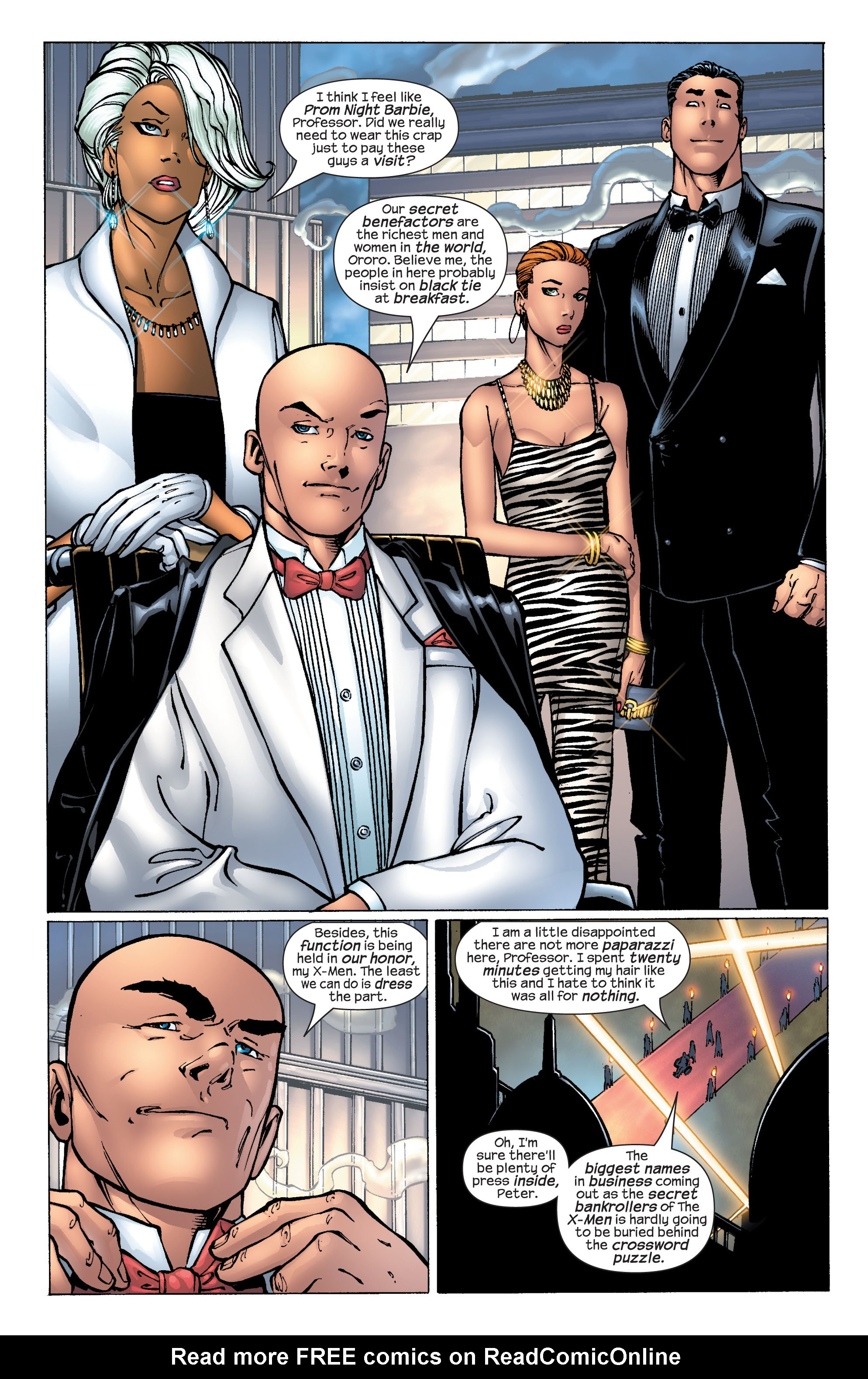 Read online Ultimate X-Men comic -  Issue #25 - 4