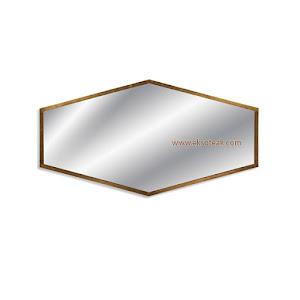 Cermin Hias Jati Minimalis Modern Seri Sigma