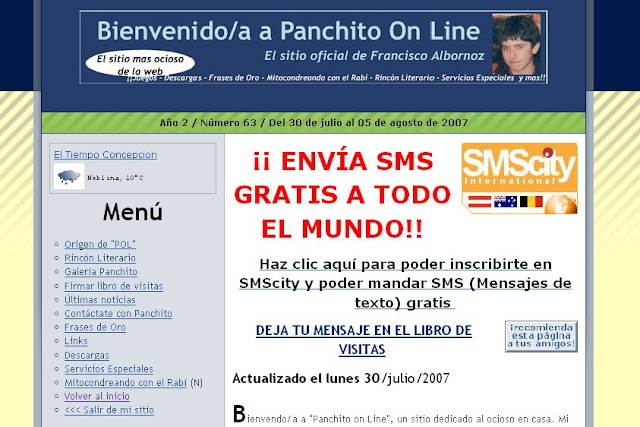 """294. Aniversario 12 de """"Donde Panchito"""""""