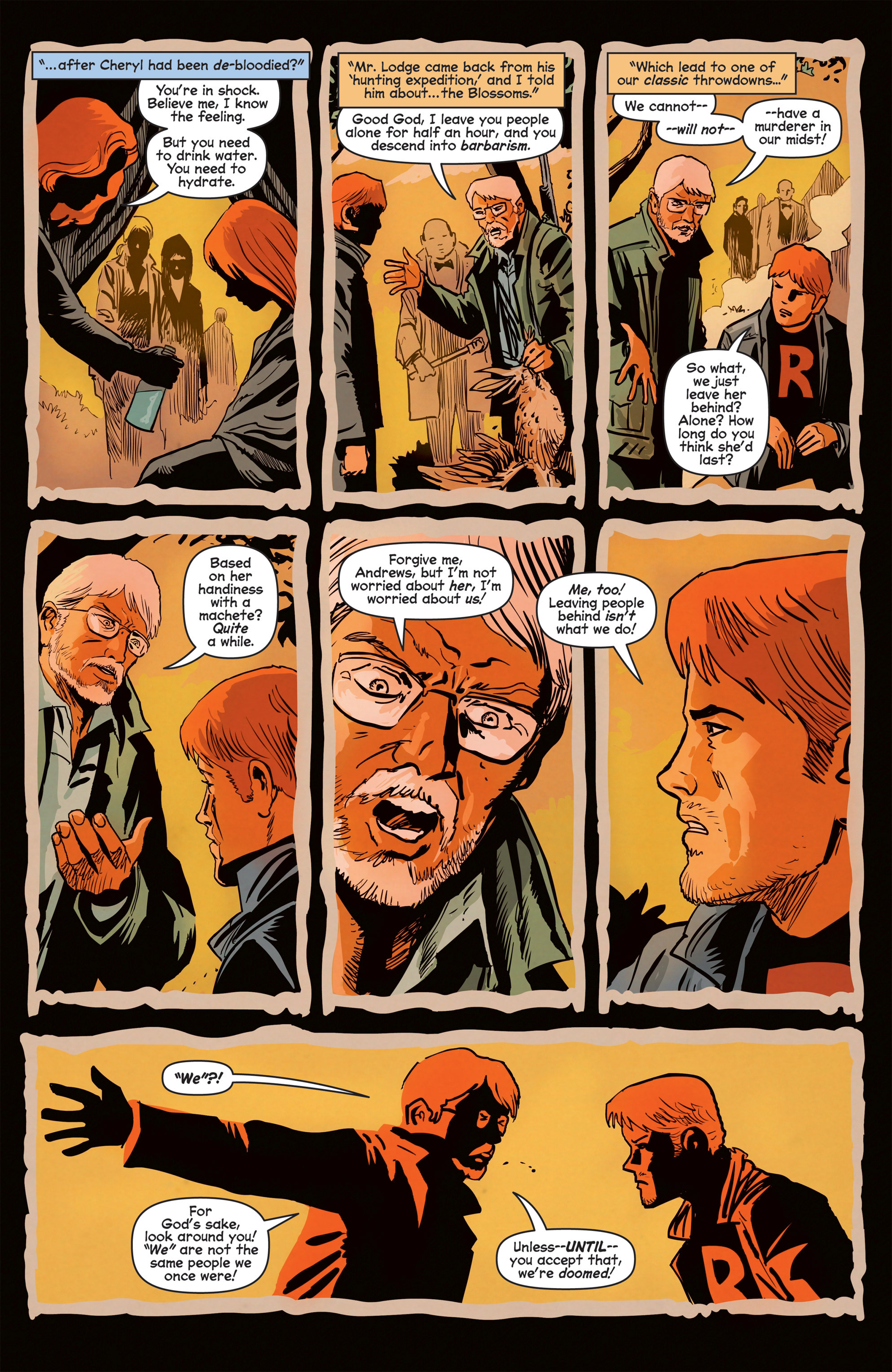 Read online Afterlife with Archie comic -  Issue #8 - 8
