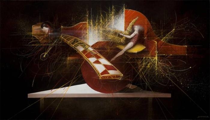 Современные художники Бельгии. Jean-Claude Dresse 5