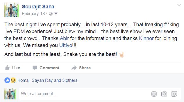 Sourajit Saha Facebook Status
