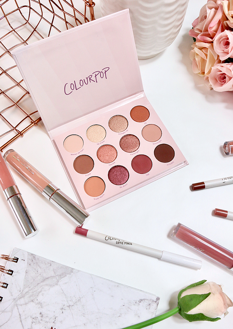 My First Colourpop Haul Give It To Me Straight Palette