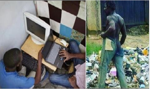 19-year-old Boy Runs Mad After Visiting Babalawo For 'Yahoo plus' (Photos)