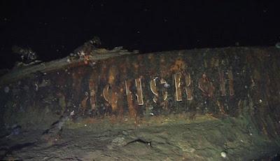 Bangkai kapal Donskoi di dasar laut