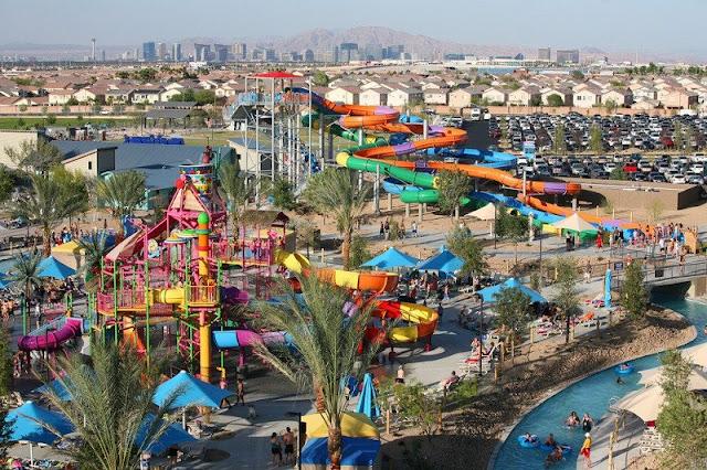 Ir com criança no parque aquático Wet'n Wild em Las Vegas