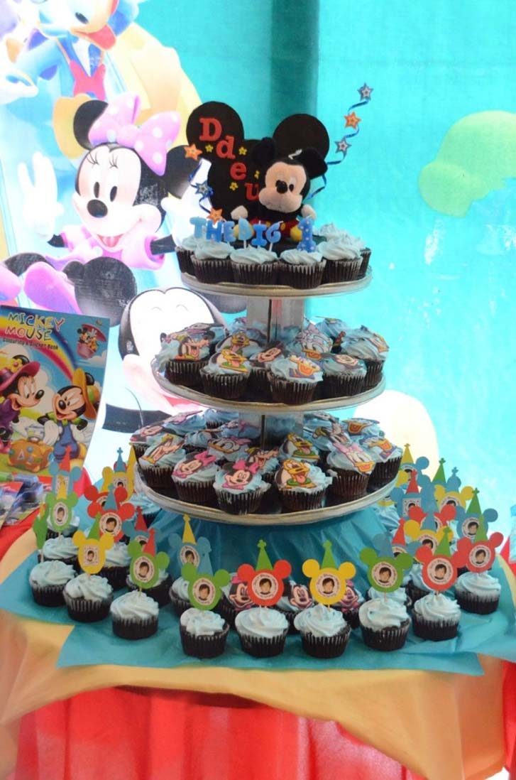 Superb Mickey Mouse Birthday Cake Design Funny Birthday Cards Online Inifofree Goldxyz