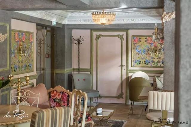 Ξενοδοχείο Ερμιόνιο Κοζάνη: Le Roi (Ημιόροφος) 3 Annie Sloan Greece