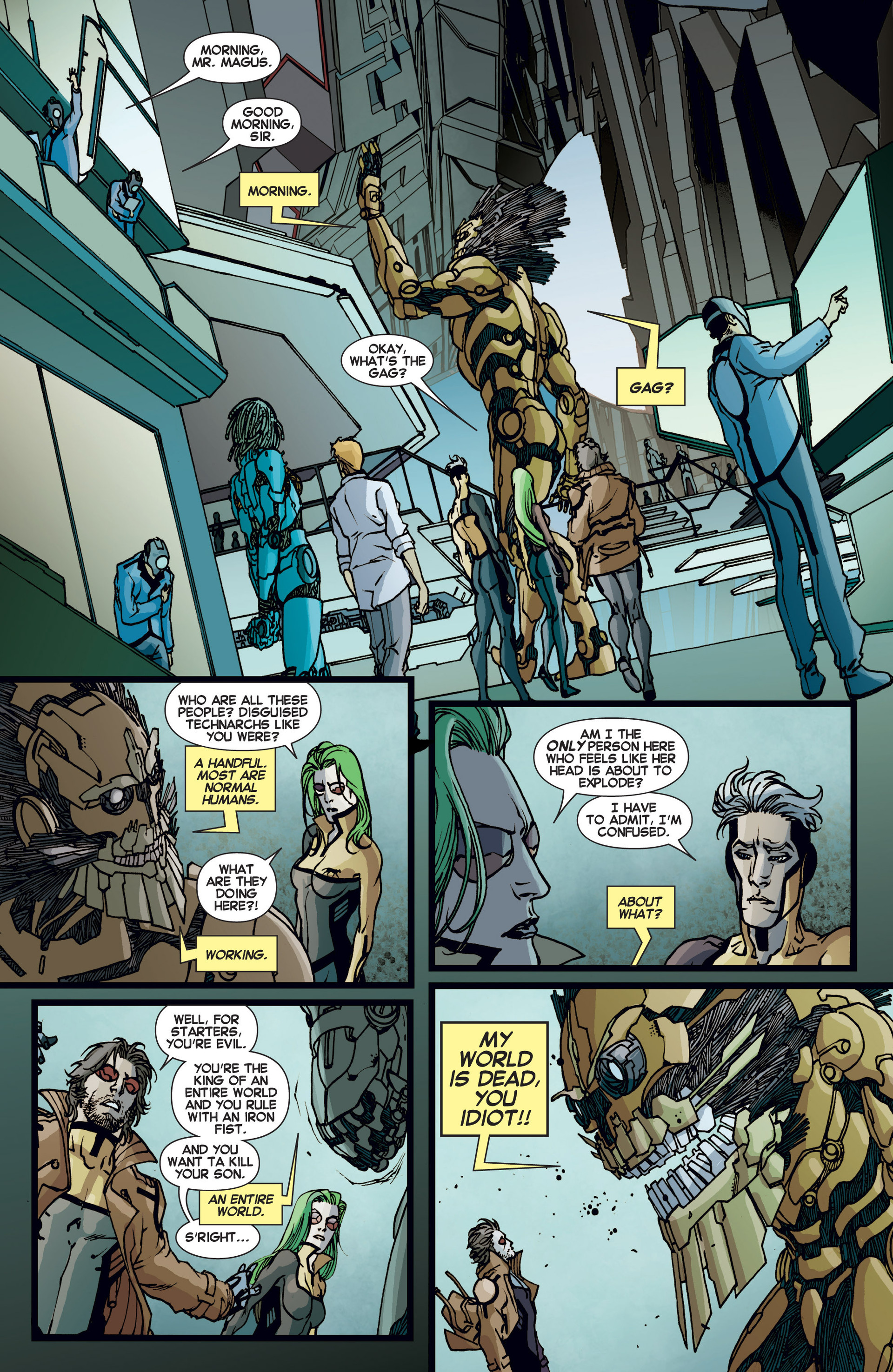 Read online All-New X-Factor comic -  Issue #6 - 15