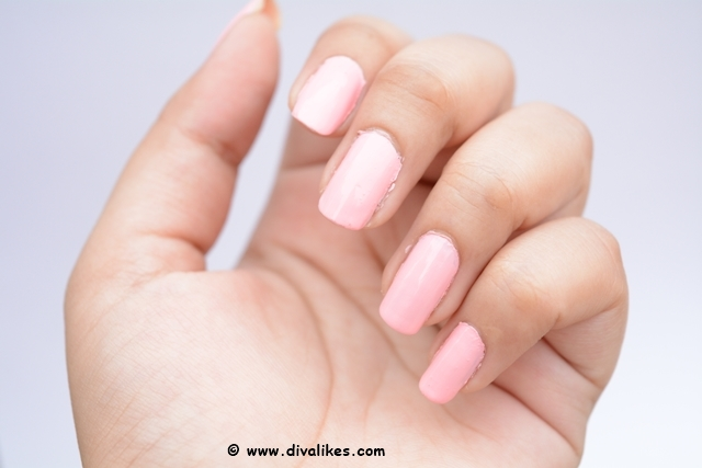 Wet n Wild Wild Shine Nail Color Tickled Pink Swatch