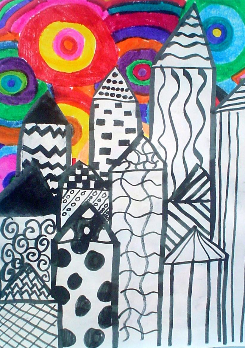 Craft Cityscape Art Kid