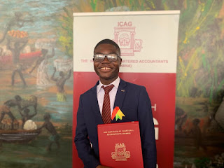 Meet Solomon Etornam Asuhene, The Youngest Chartered Accountant in Ghana