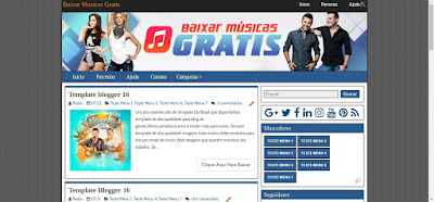 Template Blog Baixar Cds Completos Ou Musicas Gratis