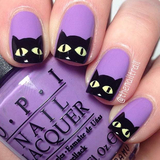 Awesome Nail Art Designs for Halloween ~ Nile Corp. Blog