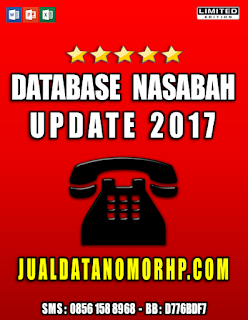 Jual Database Nasabah Prioritas