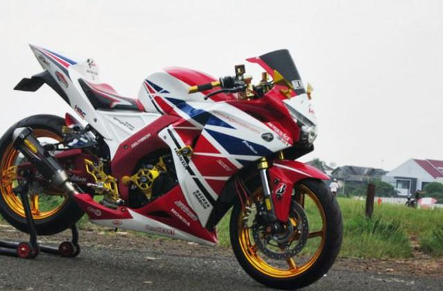 modifikasi cbr 250 cc1  terbaru