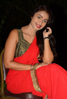 Kiran Chetavani Hot Stills in Saree 8.jpg