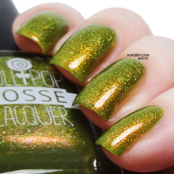 xoxoJen's swatch of Lollipop Posse Lacquer Poisoned Caramel Apple