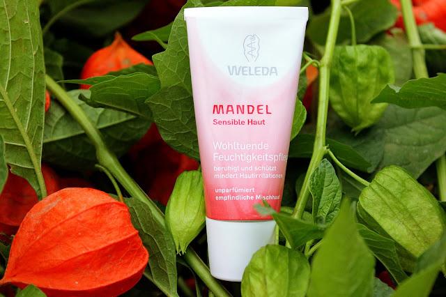 Отзыв: Миндальный увлажняющий крем для чувствительной кожи Weleda Mandel Feuchtigkeitscreme.